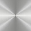 Circular Metall aluminum