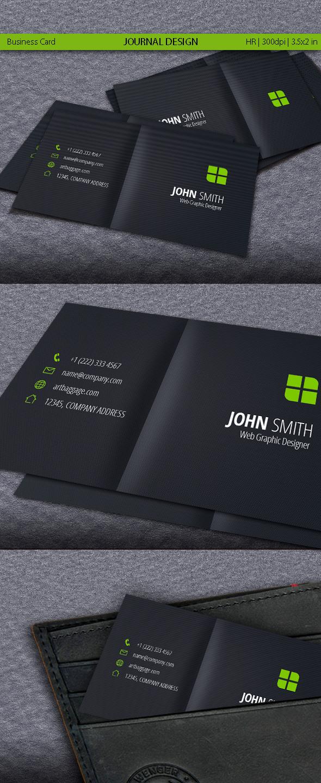 Journal Design Business Card