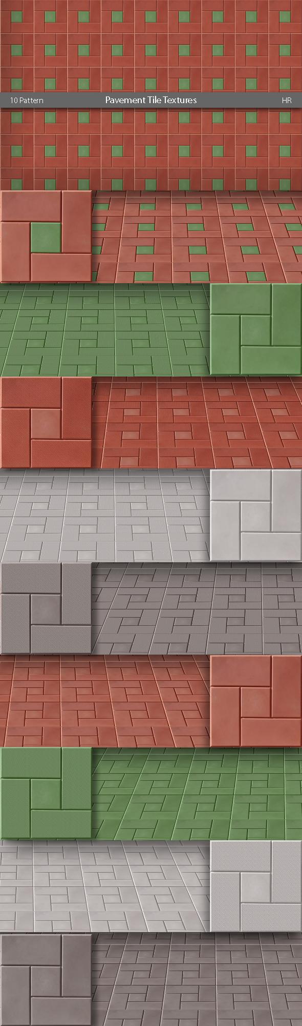 Pavement Tile Patterns