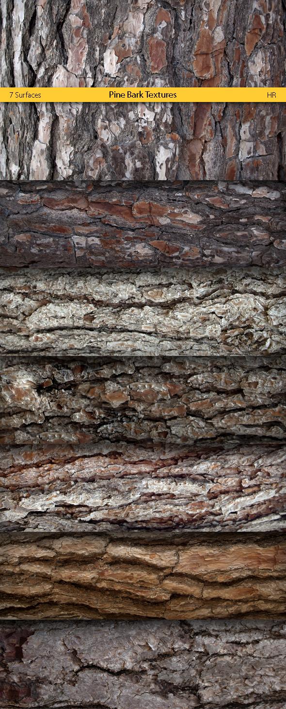 Pine Bark Textures