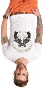 Man T-shirt ShirtsBirds