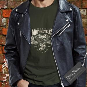 American Motorcycles Biker T-shirt