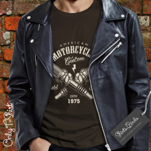 American Motorcycles Build & Repair T-shirt