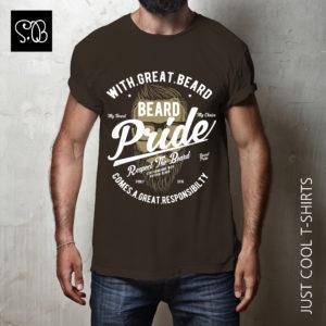 Beard Pride Vintage T-shirt