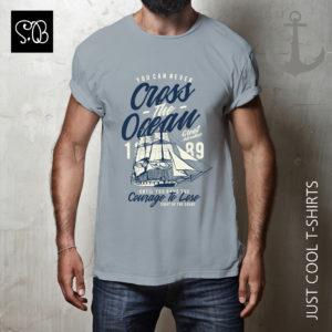 Cross The Ocean Great Adventure T-shirt