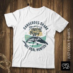 Dangerous Shark Real Hunter T-shirt