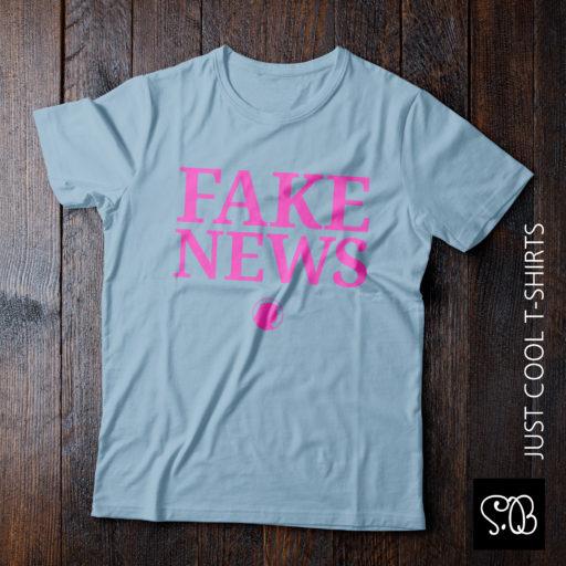Fake News Trump Says Cool T-shirt