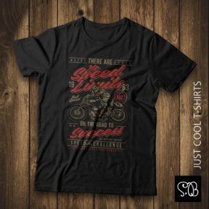 Full Speed Motorcycle Vintage T-shirt