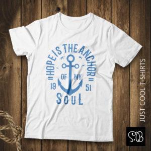 Hopeis The Anchor Soul Adventure T-shirt