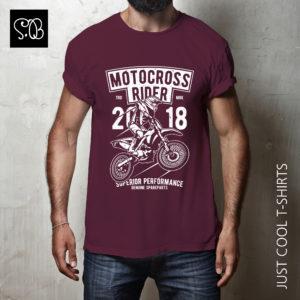 Motocross Rider Motorcycle Vintage T-shirt