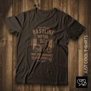 Motor Oil Motorcycle Brotherhood Vintage T-shirt