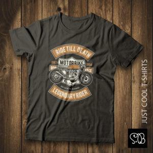 Motorbike Legendary Rider Biker T-shirt